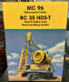 "BYMO Bauer Cable crane MC96 with Trench Cutter BC35 and HDS-T ""Eiffage"""